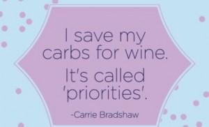 Herligt citat fra Carrie Bradshaw, jeg kan kun være enig 😀