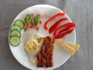Eksempel på min morgenmad 😋