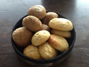Ciabatta boller og theboller, helt uden sukker og mel.