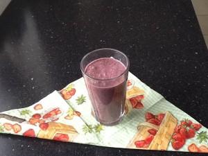 Lækker og sund smoothie til at starte dagen på 👍