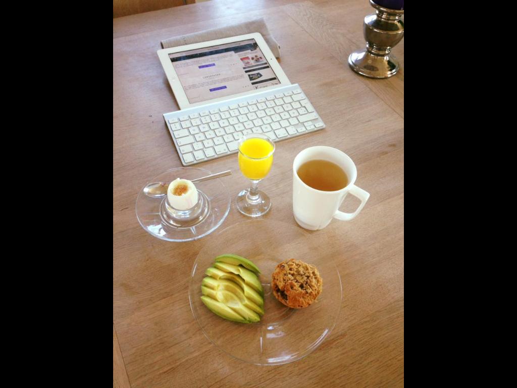 Lørdagens morgenbord