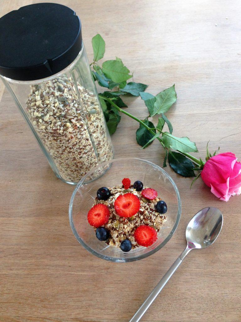 Hjemmelavet og velsmagende müsli