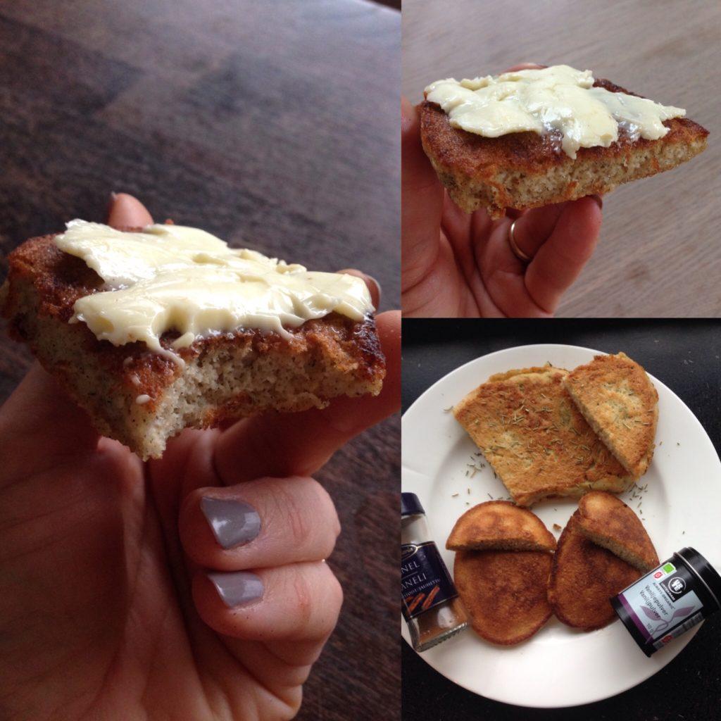Pandestegt brød, super low carb
