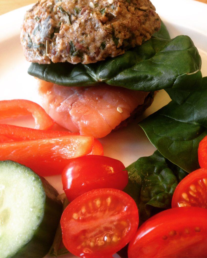 Frokostboller helt uden mel og sukker men med spinat og squash