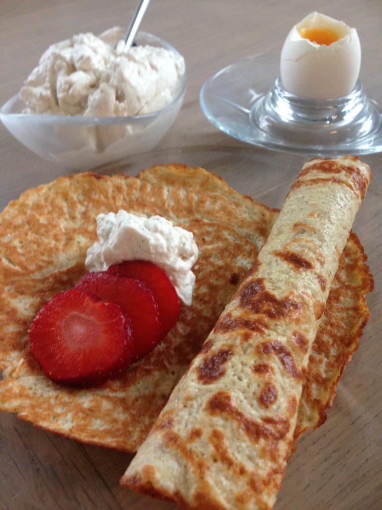 Pandekager til morgenbordet