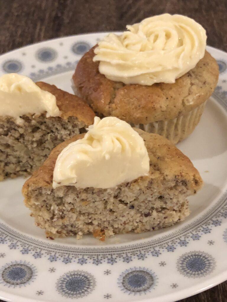Cupcakes med vanilje